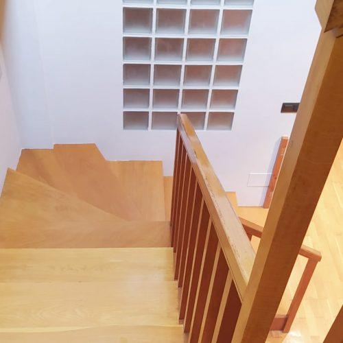 escaleras madera a coruña